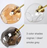 Iluminación ligera pendiente del diseño de la lámpara de cristal moderna especial del restaurante