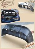Carbon Fiber Trunk Spoiler Telhado Wing Top Diffuser
