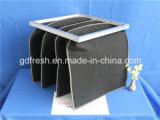 활성화된 탄소 포켓 필터 공기 정화 장치/탄소 필터