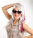 최신 판매 Cosplay Anime 가발 곱슬머리 합성 머리 가발