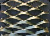 확장한 금속이 다이아몬드 /Hexagonal 분말 코팅에 의하여 직류 전기를 통했다