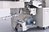 Horizontales Fluss-Satz-Drehautomatisches Hochgeschwindigkeitskissen medizinische Bandagepacking Maschine