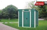 Mini casa de acero del jardín de Structureal, pequeña vertiente del jardín
