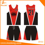 Plein uniforme personnalisé de basket-ball de sublimation avec des Jersey de basket-ball de qualité