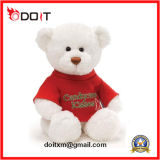 Giocattolo molle dell'orso della peluche farcito Santa della decorazione del regalo di natale di sicurezza