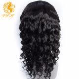 pleine perruque de cheveux humains d'avant de lacet de densité des perruques 250% de cheveux humains du lacet 7A pour la perruque avant bouclée desserrée normale brésilienne de lacet de femmes de couleur