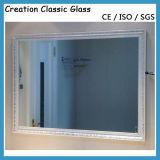 3-6mm 세륨 & ISO9001를 가진 장식적인 미러를 위한 직사각형 미러 유리