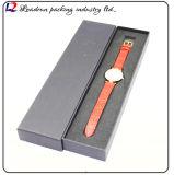 시계 줄 시계 결박 부속품 회중 시계 (Sy04)를 위한 가죽 회중시계 딱지 수송용 포장 상자