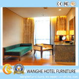 Мебель спальни гостиницы нового типа деревянная