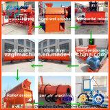 Cadena de producción de la granulación del fertilizante de las heces de la haba