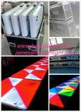 1m*1m il più nuovo prodotto RGB 3in1 Dance Floor con l'indicatore luminoso Patry della fase della discoteca di musica DMX512