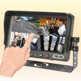 GPS het Systeem van de Navigatie met de Monitor van het Scherm van de Aanraking en ReserveCamera
