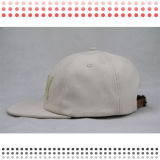 革パッチが付いている2016年のスエード5のパネルの帽子