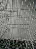 Großer Vogel-Rahmen-Papageien-Rahmen-Metallrahmen-Haustier-Haus-Draht-Rahmen