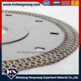 Supply de confiança Turbo Diamond Saw Blade para Granite, Marble/Cyclone Mesh Turbo