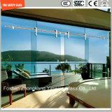 ясность и картина безопасности 4-19mm плоские/согнули Tempered/Toughened стекло для двери/экрана ванной комнаты/ливня/перегородки с сертификатом SGCC/Ce&CCC&ISO