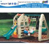 아이들 플라스틱 장난감 활주 및 그네 세트 실행 장비 (HC-16512)