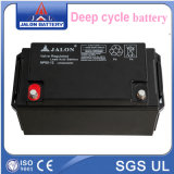 Cycle profundo Solar System Rechargeable Battery (12V65AH)