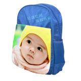 Сублимация кладет голубой Backpack в мешки малышей Cavas цвета
