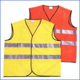 Het Weerspiegelende Vest van de Veiligheid van de Polyester van 100% voor Bescherming