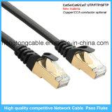 Cable de la red de cable del LAN del ftp Cat5e