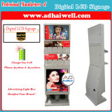 Digital Signage LCD 9 Secure Lockers Fast Free Recharger Mobile Phone Quadros de carregamento