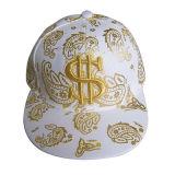 Première casquette de baseball de Snapback de vente avec l'impression métallique Gjfp17108