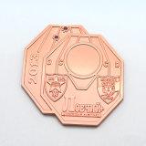 金の金属の円形浮彫りのスポーツ賞メダル