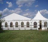 Tienda de campaña portátil moderna prefabricadas Gran Feria Casa