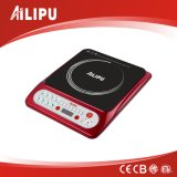 Sale caldo Model e Fashion Red Color Induction Cooker, Induction Cooktop con ETL Approval per Kitchen Use