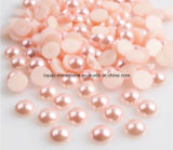 перла эпоксидной смолы перлы ABS перл круга 2mm 3mm 4mm 6mm 8mm половинная (персик FB-Перлы)