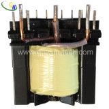 Transformateur d'alimentation inférieur de perte de Pq, transformateur à haute tension pour le périphérique audio
