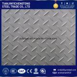 placa Checkered antideslizante del acero inoxidable 304 de 6m m