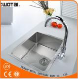 (WT1009CH-KF) Кран воды раковины ручки поставщика Китая одиночный