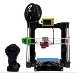 Impresora de acrílico blanco y negro mini 3D-Printer de la subida R3
