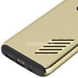 Caja dual híbrida del teléfono de la capa para el borde de la galaxia S7 de Samsung