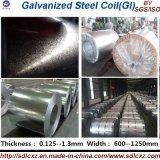Bobina o strato ricoperta zinco d'acciaio galvanizzata di Gi della bobina