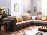 Sofá clássico novo da tela da parte alta da mobília da HOME do estilo das vendas quentes novas do projeto