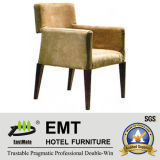 Chaise de banquet de tissu d'armature en bois d'hôtel (EMT-HC53)