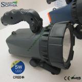 5W la torcia ricaricabile dell'autodifesa LED dura 16-32 ore
