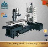 회전하는 깔판 변경자 구조 유형의 CNC 수평한 기계로 가공 센터