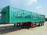 中国の3車軸高壁の平面のトレーラー