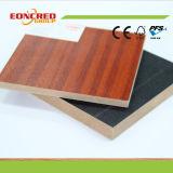 Il colore solido, melammina differente di colore del grano di legno ha posto al MDF