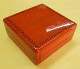 Caja de reloj de madera hecha a mano del precio de fábrica
