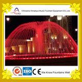 Fontaine d'eau extérieure de configuration de champignon de couche avec les lumières colorées