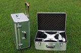 Случай фантома 3 Dji большого багажа случая вагонетки алюминиевый