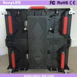 500X500mm druckgießender im Freien farbenreicher LED Innenbildschirm für die Videodarstellung, die für Miete bekanntmacht