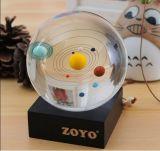 Boule de cristal et boule de cristal 3D gravée au laser 3D