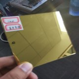 spiegel van het Glas van de Kunst van 5mm de Gele voor Decoratie
