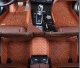 Couvre-tapis de véhicule du cuir 5D d'accessoire automatique pour Tesla